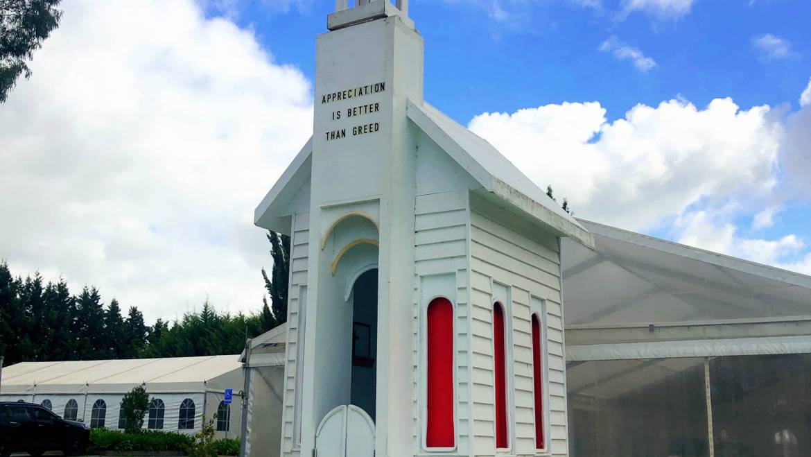 The smallest chapel in the world